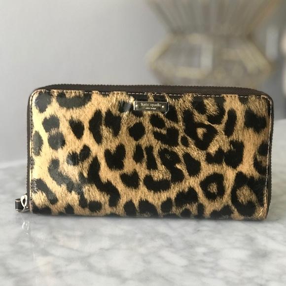 Kate Spade Handbags - Kate Spade Leopard Wallet